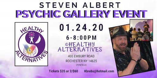 Steven Albert: Psychic Gallery Event - Healthy Alt 1/24