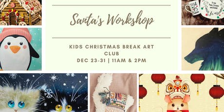 Santa's Workshop: Kids Art Club tickets