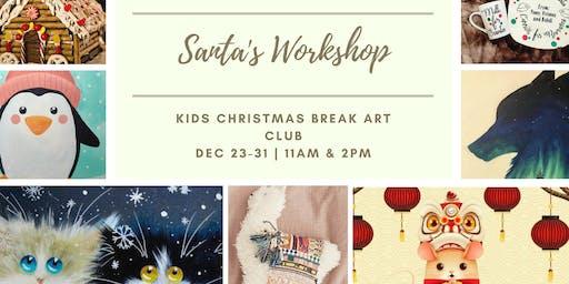 Santa's Workshop: Kids Art Club