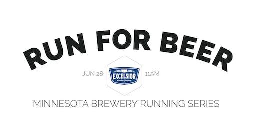 Beer Run - Excelsior Brewing Co | 2020 Minnesota Brewery Running Series