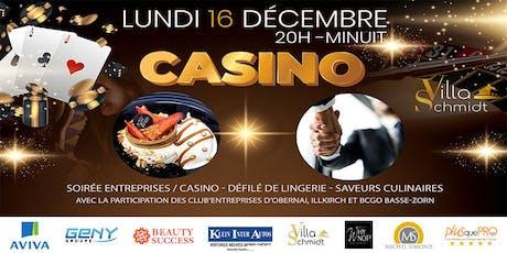 Rencontres Entreprises - Casino - Saveurs Culinaires - Défilé lingerie billets