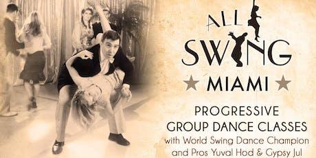 Miami Swing Dance Classes tickets