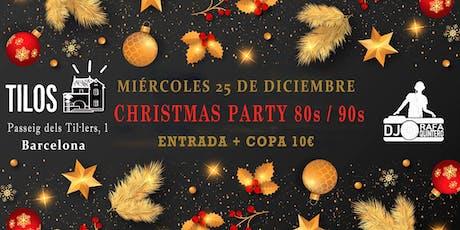 Christmas Party 80s / 90s entradas