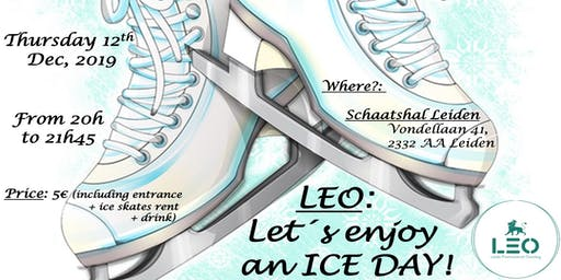 LEO: Let´´s enjoy an ICE DAY!