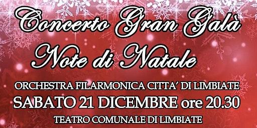 Concerto Gran Galà Note di Natale