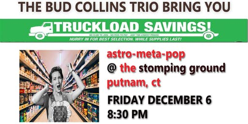 Bud Collins Trio at The Stomping Ground