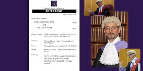 Leeds Beckett Law Society - Meet a Judge tickets