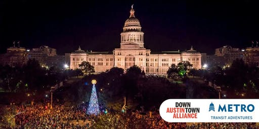TRANSIT ADVENTURE (12/7) | Downtown Holiday Stroll
