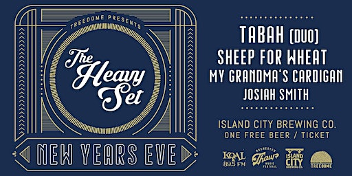 New Year's Eve Bash w/ The Heavy Set, Tabah, and more