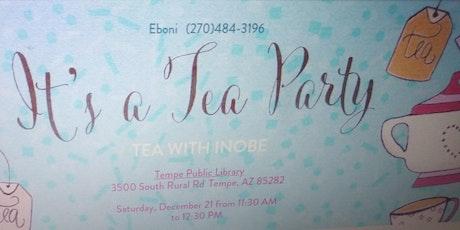 Tea with Inobe tickets