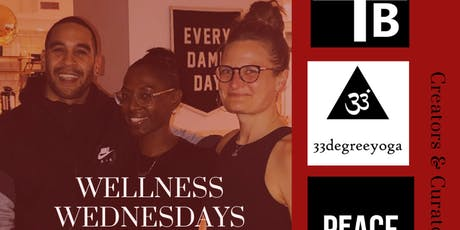 Well Wednesday Yoga w/ 33 Degree Yoga + Black & Blonde at WeWork 1 Beacon tickets
