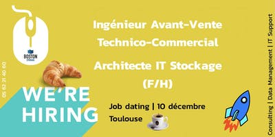 Recrutement IT | Architecte stockage & Avant-vente Technico-commercial F/ H