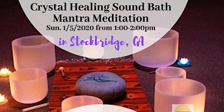 Crystal Healing Sound Bath Mantra + Medition tickets