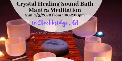 Crystal Healing Sound Bath Mantra + Medition