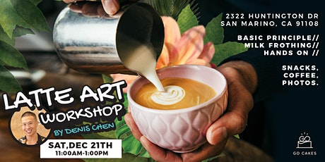 Latte Art Class (English) tickets