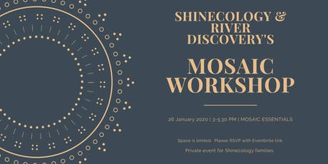 Shinecology & River Discovery's Mosaic Workshop tickets