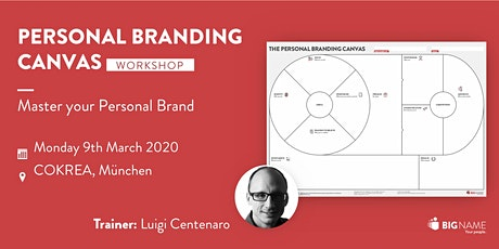 Master your Personal Brand billets