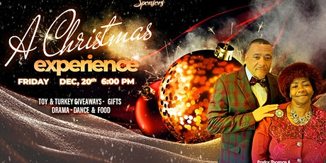 """A Christmas Experience"" tickets"