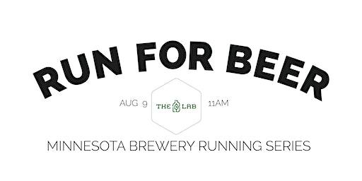 Beer Run - The Lab   2020 Minnesota Brewery Running Series