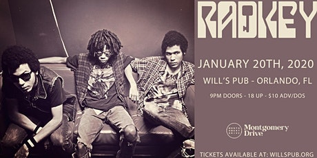 Radkey at Will's Pub tickets