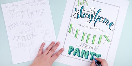 CraftJam Academy: Hand Lettering Workshop  tickets