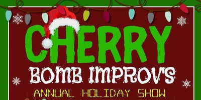 Cherry Bomb Improv Holiday Party and Improv Show