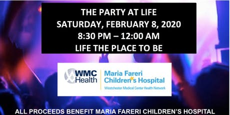 The Party at Life 2020 tickets