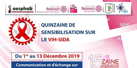 Quinzaine De Sensibilisation Sur Le VIH SIDA billets