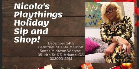 Nicola's Playthings Christmas Sip and Shop tickets