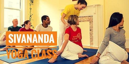Donation Based Sivananda Yoga Class at 7 Centers Yoga Arts