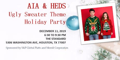 2019 AIA & HEDS Ugly Sweater Theme Holiday Party tickets
