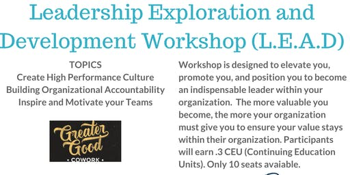 Leadership Exploration and Development Workshop