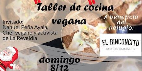 Taller de Cocina Vegana en La Plata - Diciembre 2019 entradas