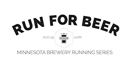 Beer Run - Inbound BrewCo | 2020 Minnesota Brewery Running Series tickets
