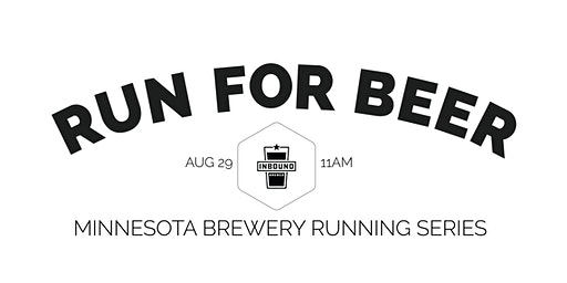 Beer Run - Inbound BrewCo | 2020 Minnesota Brewery Running Series