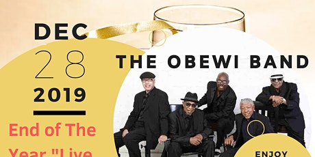 """Conyers LIVE BLUES JAM """"End of the Year Dance Party"""" w """"THE OBEWI BAND"""" tickets"""