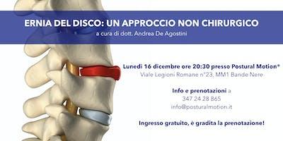 Ernia Del Disco: Un Approccio Non Chirurgico