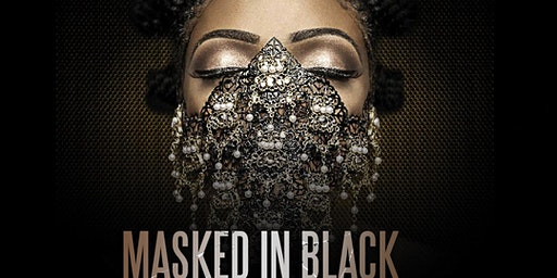 Masked in Black: All Black Masquerade Affair
