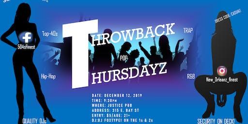 Throwback Thursdayz
