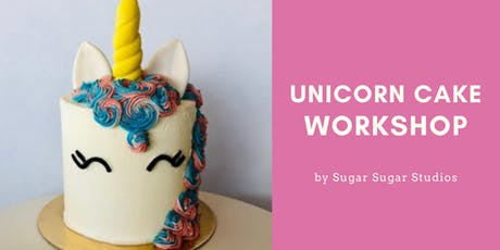 Cake Decorating: Unicorn Cake Workshop tickets