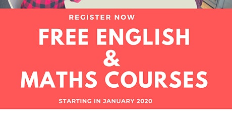 Free ENGLISH AND MATHS  tickets