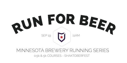 Beer Run - Badger Hill Brewing Co | 2020 Minnesota Brewery Running Series