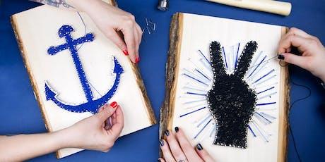Make a String Art Wall Decoration tickets