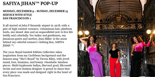 SAFIYA JIHAN ™ Exclusive Royal Collection Holiday Pop Up at Bloomingdale's