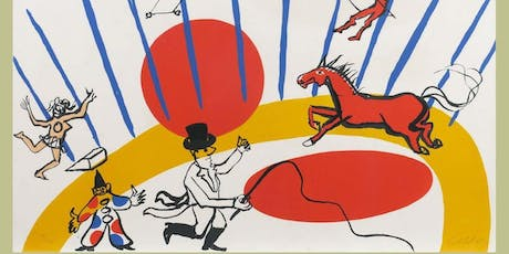 """""""Circus at Night"""" inspired by Alexander Calder  tickets"""