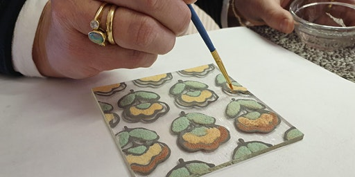Beginners Glass Fusing Class - Powders and Enamels
