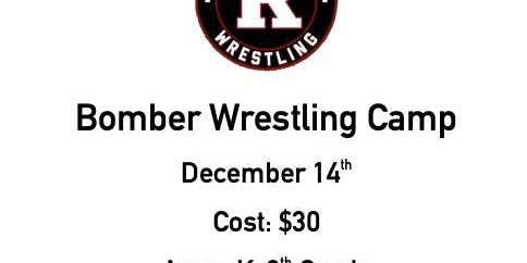 Bomber Wrestling Camp