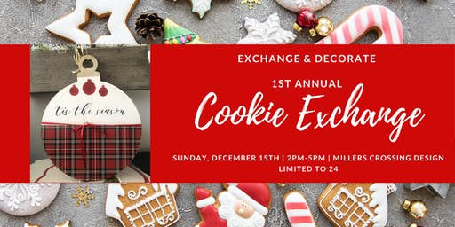 1st Annual Cookie Exchange