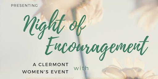 Night of Encouragement