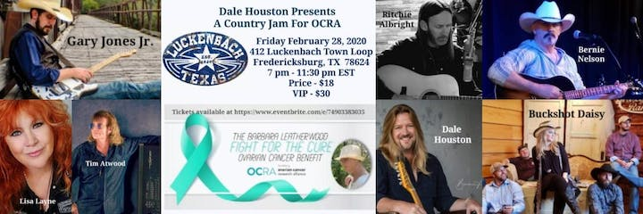 Fredericksburg Events February 2020.The Barbara Leatherwood Fight For The Cure Music Concert For